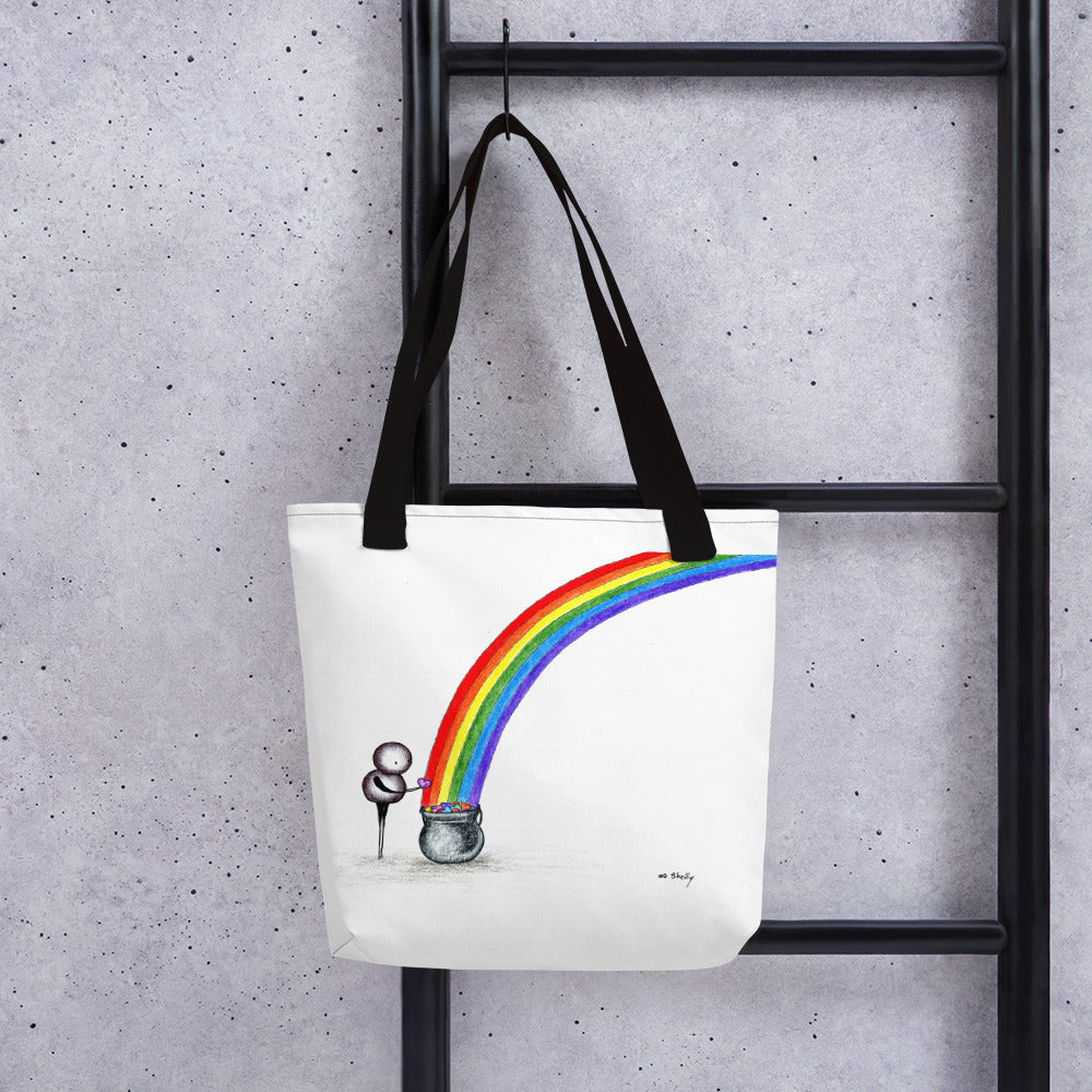 End of the Rainbow - Tote bag