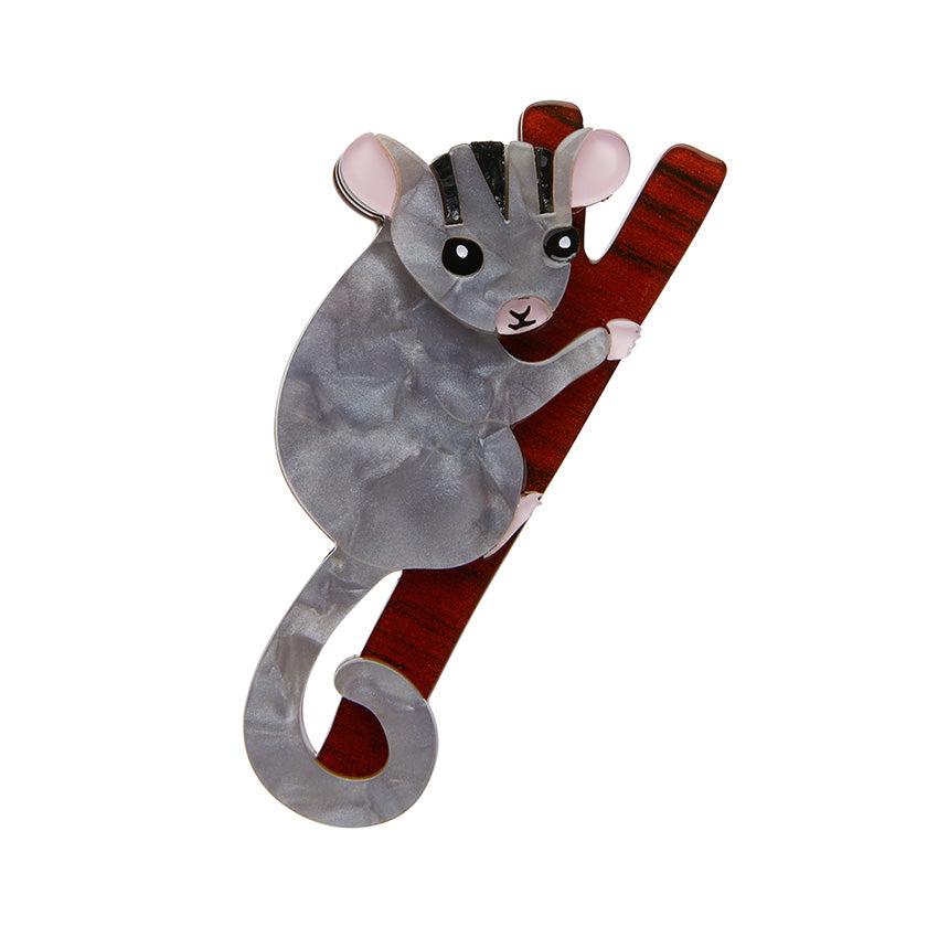 Possum at Play Brooch by Erstwilder