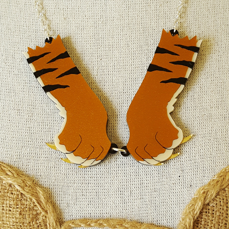 Tiger Paws Necklace by Sugar and Vice