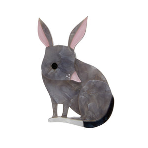 Bouncy Burrow Dweller Bilby Brooch by Erstwilder