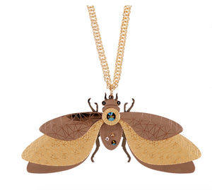 Large Insect Necklace by Little Moose