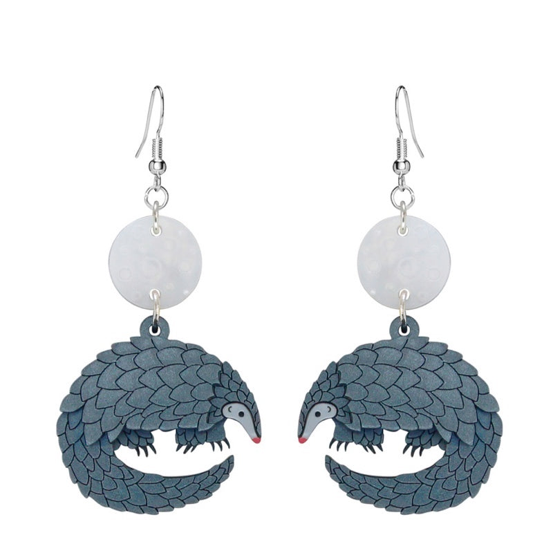 Pangolin Earrings by Little Moose