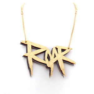 Roar Necklace Lost City by Sstutter