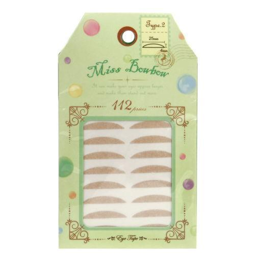 Miss Bowbow Type 2 Invisible Eyelid 3M Tape Deepen Eyes - 112 PCS | Miss Bowbow | My Styling Box