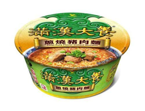 Uni-President Taiwan Chilli Pork Flavor Instant Noodles - Bowl | Uni-President | My Styling Box