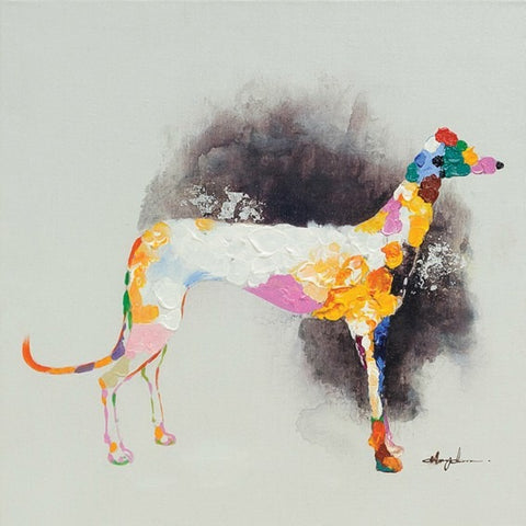 Great Dane Oil Painting