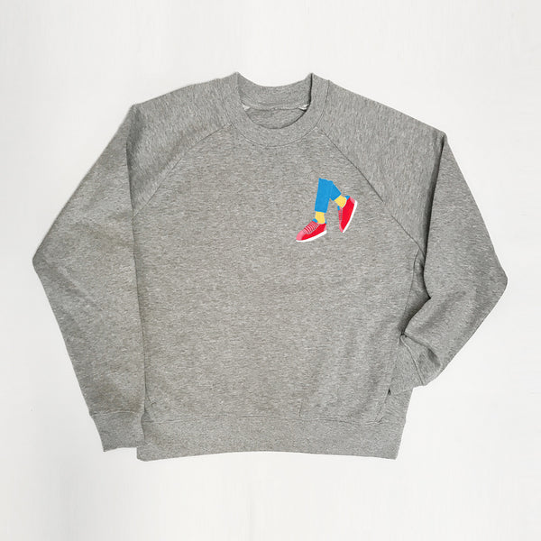 Get Your Kicks En Brogue X Disko Kids Sweatshirt xx XS & XL Left xx