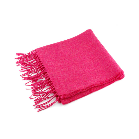 Pink Lightweight Wool Scarf