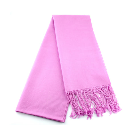 ultra fine and silky smooth wool pashmina made in Ireland, candy pink