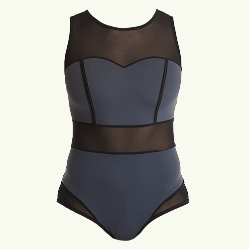 Signature Swimsuit Slate - Hendricks