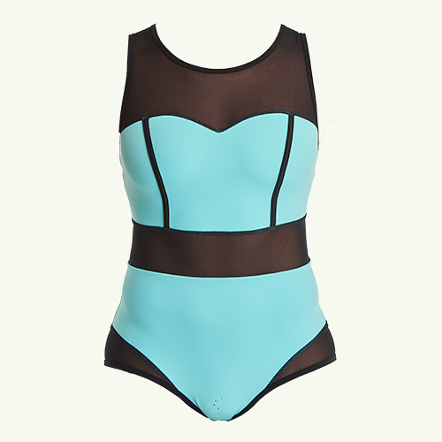 Signature Swimsuit Mint Blue - Hendricks