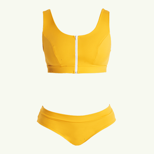 Swimcrop Bikini Set Mango - Hendricks