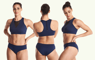 Swimbra Bikini Set Navy - Hepburn