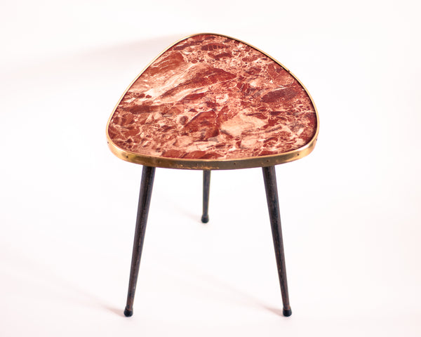§ Marbled Tripod Table