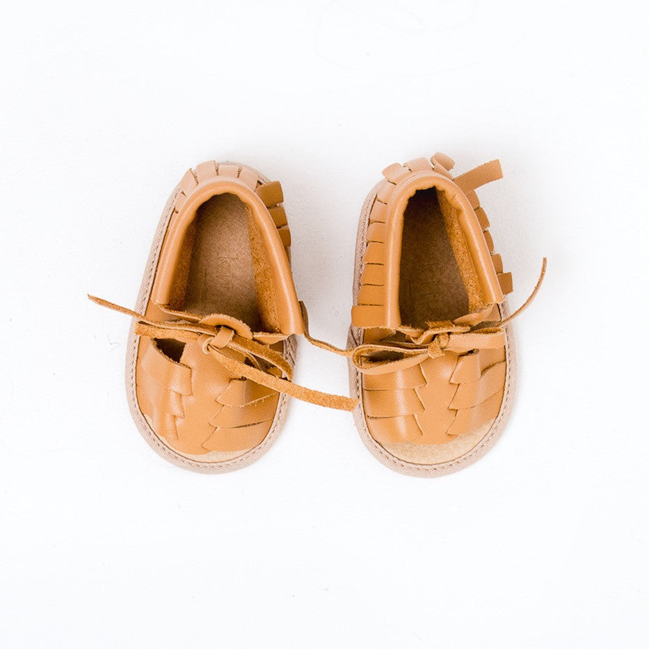 Baby Sandals - Cali Tan for babies toddlers and children, natural leather boys & girls, Kit & Kate Australia Perth 8