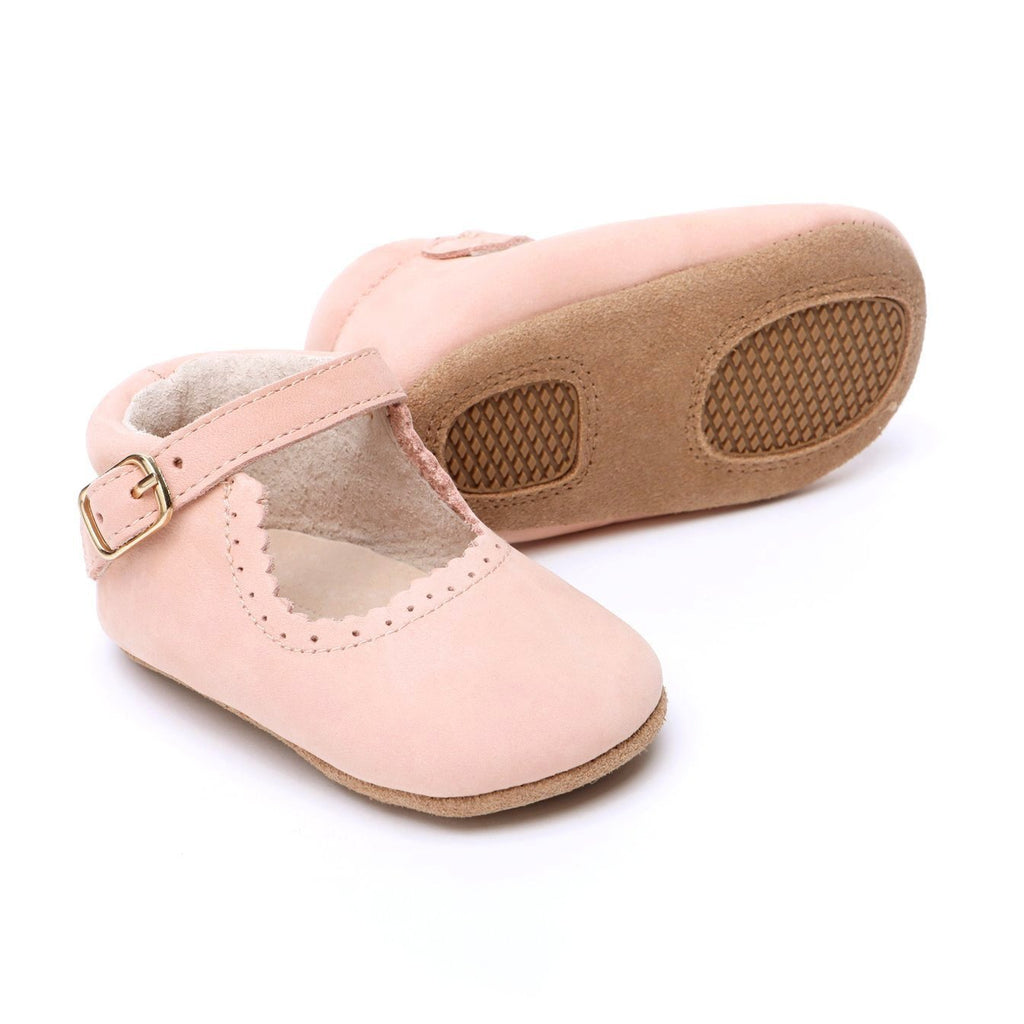 Eleanor Leather Baby Mary Jane Soft soled natural leather Shoes for Babies and Toddlers girls - Kit t& Kate 2