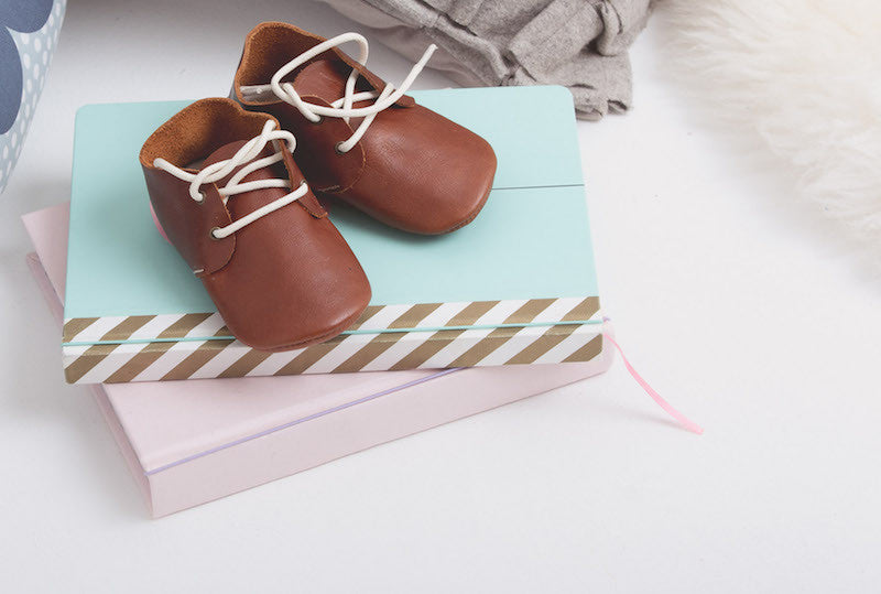 Baby Shoes -  Oxford Shoes for Babies & Toddlers. Boys & Girls, Kit & Kate Australia Perth Soft Soles Natural Leather 21