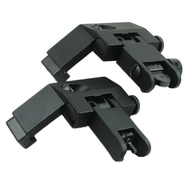 Mil Spec Flip Up 45 degree Iron Rear/Front Sight Mount Set FR04
