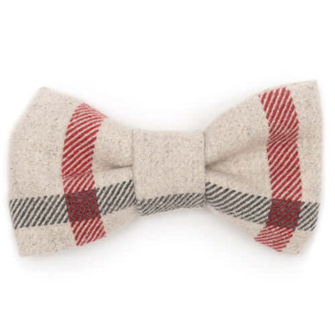 Nottingham Check Dog Bow Tie