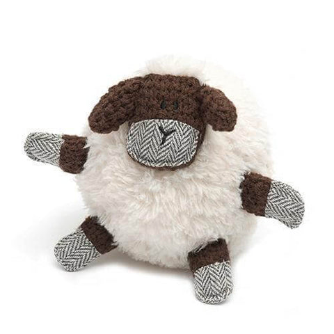 Shelby Sheep Plush Dog Toy