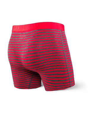 SAXX Vibe Boxer Brief - Red Hiker Stripe