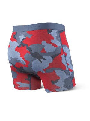 SAXX Vibe Boxer Brief - Blue Supersize Camo