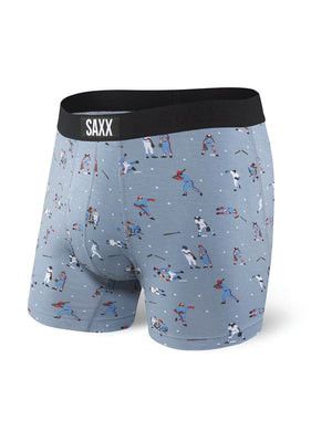 SAXX Vibe Boxer Brief - Gray Mavericks