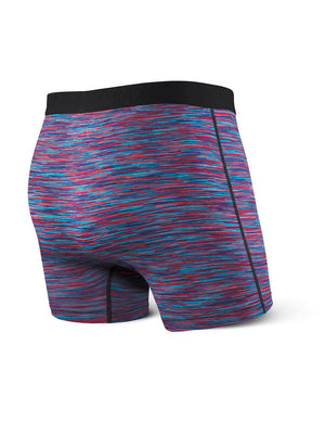 SAXX Vibe Boxer Brief - Red/Blue Space Dye
