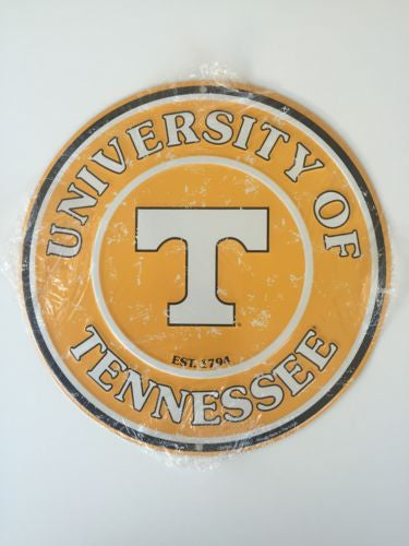 TENNESSEE VOLUNTEERS ROUND SIGN