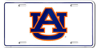 AUBURN TIGERS LICENSE PLATE UA