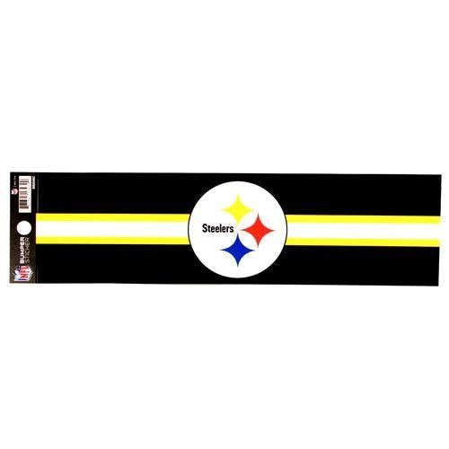 "PITTSBURG STEELERS BUMPER STICKER 11"" X 3"" NFL FOOTBALL DECAL CAR TRUCK SIGN"