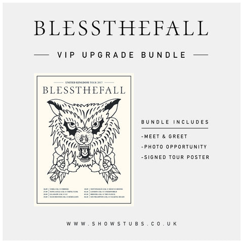 3 October 2017 | Bristol, UK at The Fleece | VIP sales have ended for this date.