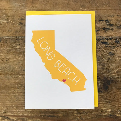 Long Beach Greeting Cards