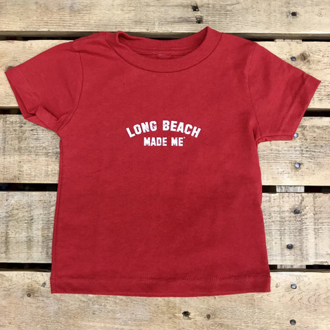 Long Beach MADE Me - Red for Baby/Toddler