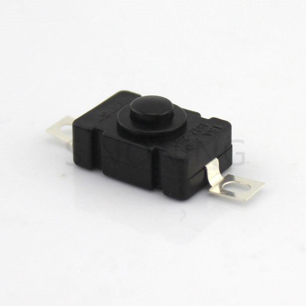 Black square switch (self - locking)  micro - switch electronic DIY materials