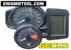 BMW GS800 DASH GECKO FILTER INSTALLATION