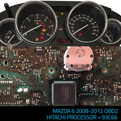 PROGRAM NR 442 MAZDA 6 HITACHI +93C86