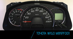 PROG 444 - Toyota Wigo FUJITSU MB96F001 mileage correction software