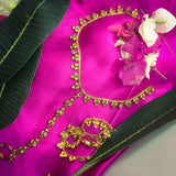 ANTIQUE PAYAL WITH TOE - RING