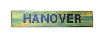 Rustic Hanover Sign