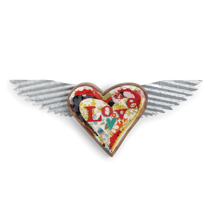 Love Heart Wings Wall Art - The Kelly Rae Roberts Collection