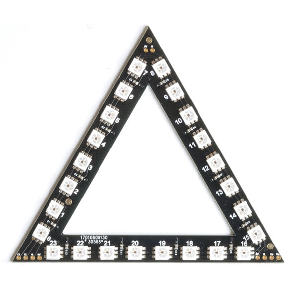 RasPiO Inspiring LED Triangle