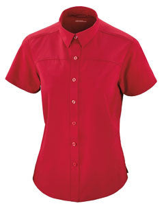 Ash City - North End Sport Red Charge Recycled Polyester Performance Short-Sleeve Ladies Shirt