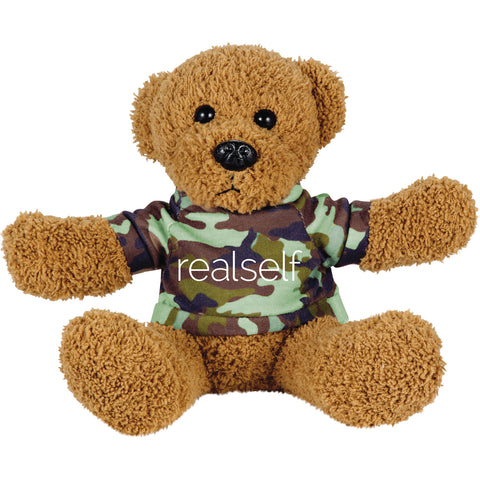 "6"" Plush Rag Bear with Shirt"