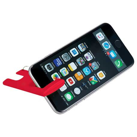 Duple Phone Stand with Screen Cloth