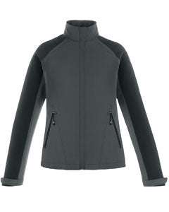Ash City - North End Ladies' Sport Blue Borough Lightweight Jacket with Laser Perforation