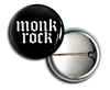 MONKROCK Grunge Logo Button