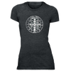 St Benedict Medal Holy Cross Women Tee