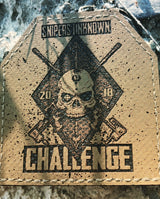 "3"" SNIPERS UNKNOWN CHALLENGE 2018 Plate Patch - Miltex Tactical"