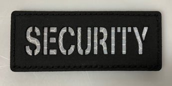 'Security' HiVis NameTape - Miltex Tactical